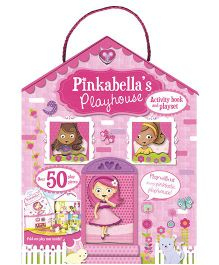 Pinkabella's Playhouse Activity Book and Playset Pink - English