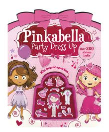 Pinkabella Party Dress Up Shaped Sticker Book - English
