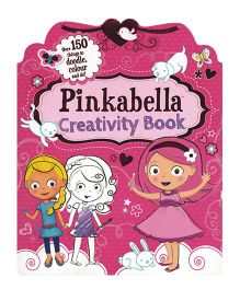 Pinkabella Creativity Book - English