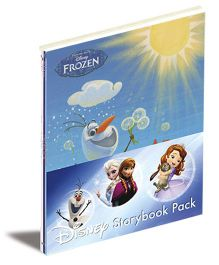 Disney Frozen Storybook Pack of 4 Titles - English