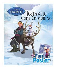 Disney Frozen Icetastic Copy Colouring - English