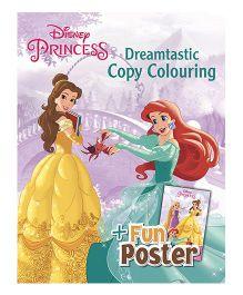Disney Princess Dreamtastic Copy Colouring - English
