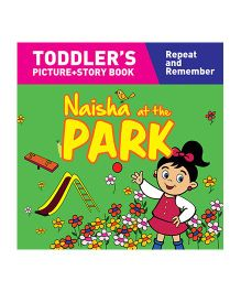 Naisha At The Park Story Book With Pictures - English