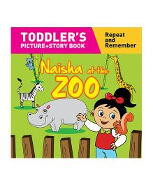 Naisha At The Zoo Story Book With Pictures - English