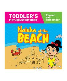 Naisha At The Beach Story Book With Pictures - English