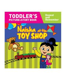 Naisha At The Toy Shop Story Book With Pictures - English