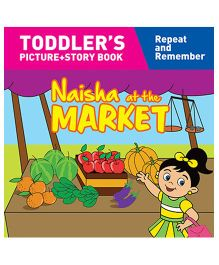 Naisha At The Market Story Book With Pictures - English
