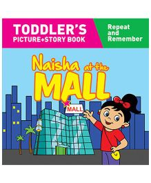 Naisha At The Mall Story Book With Pictures - English