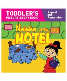 Naisha At The Hotel Story Book With Pictures - English