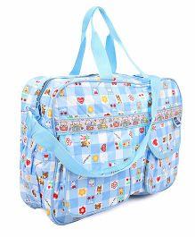 Mee Mee Nursery Bag Bunny Print - Blue