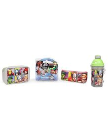 Marvel Avengers School Kit Pack of 4 - Multicolour