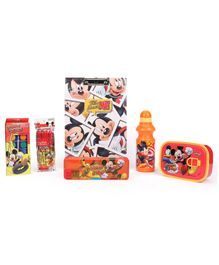 Disney Mickey Mouse School Kit - Orange