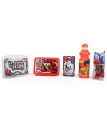 Marvel Spider Man School Kit - Orange