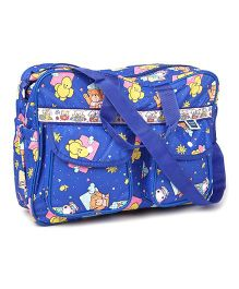 Mee Mee Nursery Bag Star Print - Dark Blue