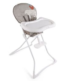 Graco Tea Time High Chair Woodland Walk Grey & Orange