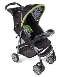 Graco Literider Bear Trail Stroller - Green Black