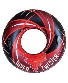 Bestway River Twister Inflatable Tube - Black Red