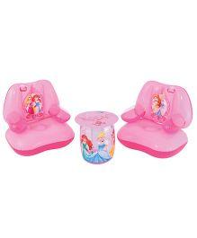 Bestway Disney Princess Inflatable Table & Chair Set - Pink