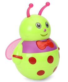 Playmate Honey Bee Roly Poly Toy - Green