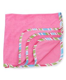 Ohms Baby Blanket - Pink