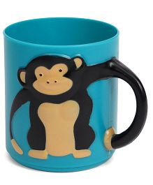 Wild Republic Monkey Applique Baby Cup - Blue