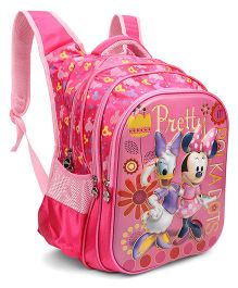 Disney Minnie Mouse School Bag Pink - 18 inch