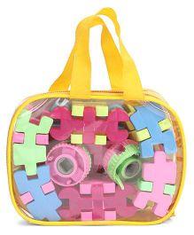 Playmate Building Blocks Multi Color - 45 Pieces