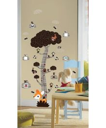 WallDesign Mystical Forest Tree - Brown