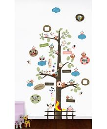 WallDesign Cute Neighborhood Tree