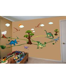 WallDesign Dinosaur Days Stickers