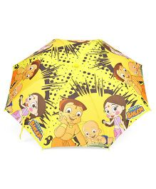 Chhota Bheem Printed Umbrella With Whistle (Colors May Vary)