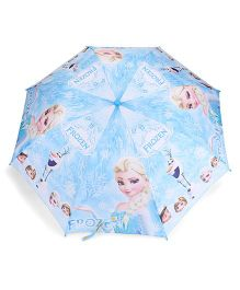 Disney Frozen Printed Umbrella - Blue