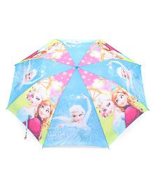 Disney Frozen Kids Umbrella With Whistle - (Color May Vary)