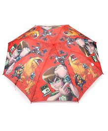 Ben 10 Kids Umbrella With Whistle (Color May Vary)