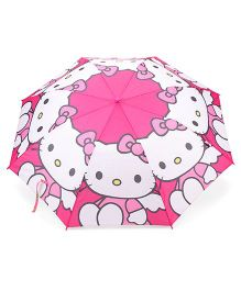 Hello Kitty Kids Umbrella With Whistle - Pink