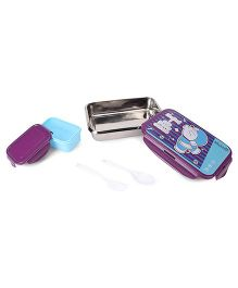 Chhota Bheem Lunch Box - Purple Blue