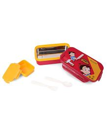 Chhota Bheem Insulated Lunch Box - Red Yellow