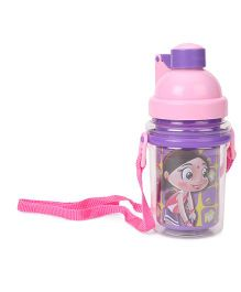 Chhota Bheem Water Bottle Purple Pink - 370 ml