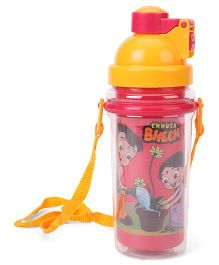 Chhota Bheem Insulated Sipper Bottle Red Yellow - 500 ml