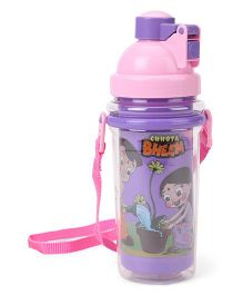 Chhota Bheem Insulated Sipper Bottle Pink Purple - 500 ml
