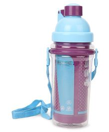 Doraemon Water Bottle Blue Purple - 500 ml
