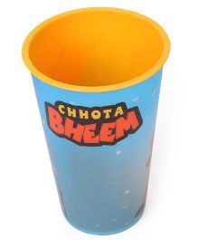 Chhota Bheem 3D Glass - Yellow Blue