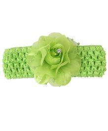 Babyhug Headband Floral Design - Green