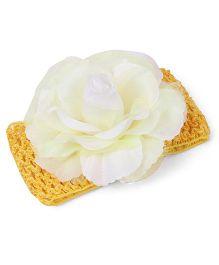 Babyhug Headband Floral Design - Yellow