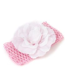 Babyhug Headband Floral Design - Light Pink