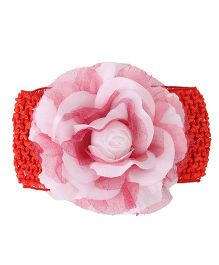 Babyhug Headband Floral Design - Red