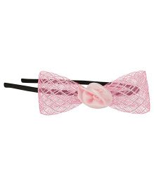 Funkrafts Net Bow Hair Band - Pink