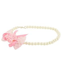 Funkrafts Pearl Necklace - Pink