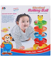 Fab N Funky - Educational Rolling Ball