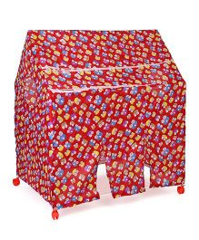 Kids Zone Play Tent House - Red